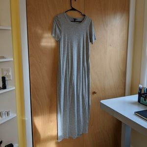 Short Sleeved Comfy Maxi Dress